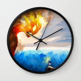 Know Who You Are Wall Clock