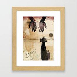 LOLITA : DYING// Framed Art Print