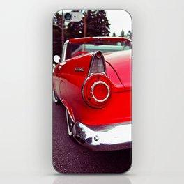 Nostalgic red iPhone Skin