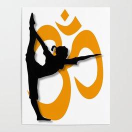 Yoga Pose Poster Poster