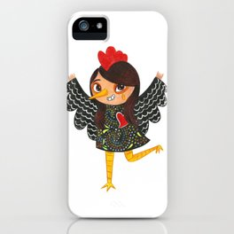 Happy New Year of the Rooster - Portuguese Rooster of Barcelos iPhone Case