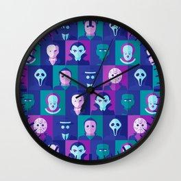 Classic Spooks Wall Clock