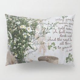 Irish Blessing Pillow Sham