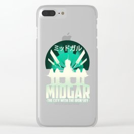 Final Fantasy VII - City with the Iron Sky Clear iPhone Case