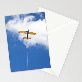 Kite flying on blue sky Stationery Cards