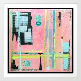 Abstract Art - Weaving Time Art Print