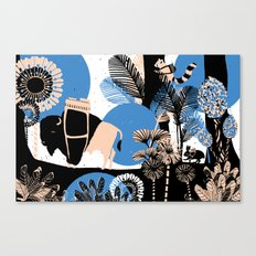 Expedition time Canvas Print