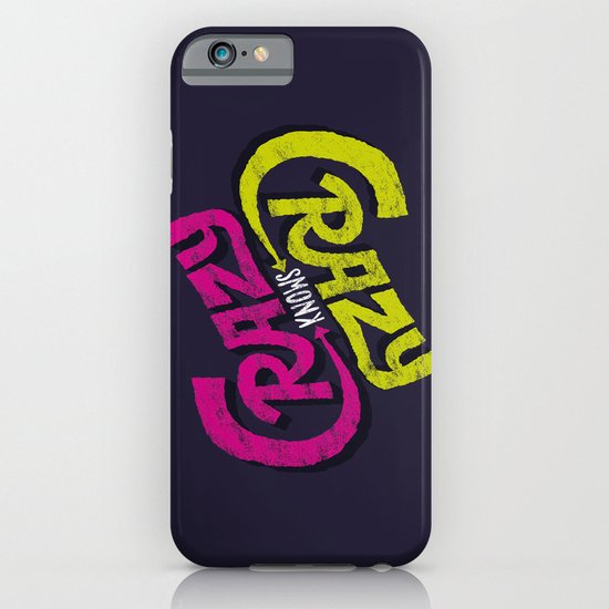 Crazy Knows Crazy iPhone & iPod Case