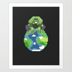 The World Breaker Art Print