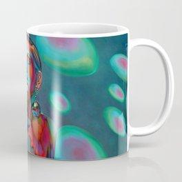 """""""Psychedelic Pop Fantasy"""" (Twiggy) Coffee Mug"""