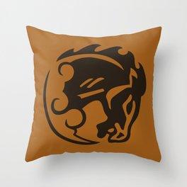 Bioshock Infinite Vigors - Bucking Bronco Throw Pillow