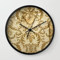 wallpaper Wall Clocks featuring Wallpaper by floor-pies