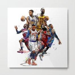 NBA 2k18 Metal Print
