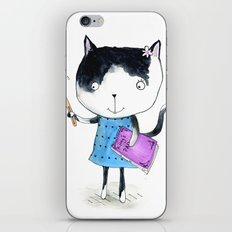 Creative Mono Cat  iPhone & iPod Skin