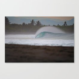 Clean and Empty Canvas Print