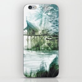 House in the wild iPhone Skin