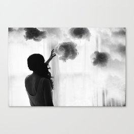 Heavens Above My Bed Canvas Print