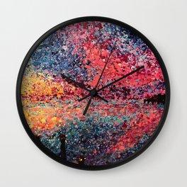 Marathon Stillness Wall Clock