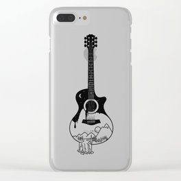 The intriguing sounds of nature Clear iPhone Case