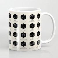 zodiac Mugs featuring Zodiac by Dorothy Leigh