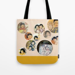 Beijing 6576 Asian vintage atmosphere with women Tote Bag