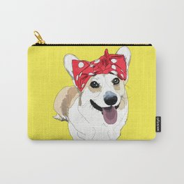 Political Pups - Register To Vote Corgi Carry-All Pouch