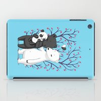 family iPad Cases featuring Bear Family by Freeminds