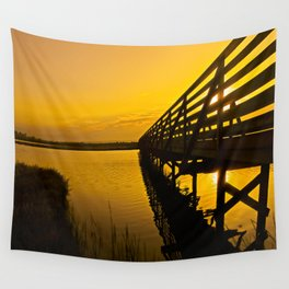Sunrise Bolsa Chica Wetlands 2 Wall Tapestry