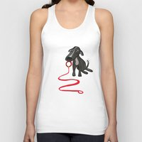 puppy Tank Tops featuring puppy by jotavé