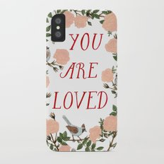 You Are Loved iPhone X Slim Case
