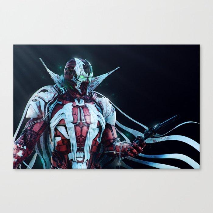 Spawn Horizontal2 Canvas Print
