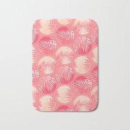 Pink Tropical Coins #society6 #decor #buyart Bath Mat