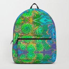 Art Nouveau Cactus Backpack