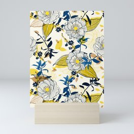 Flowers patten1 Mini Art Print