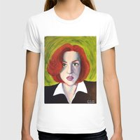 dana scully T-shirts featuring Dana Scully: Xfiles by Cameron Tyme Edison