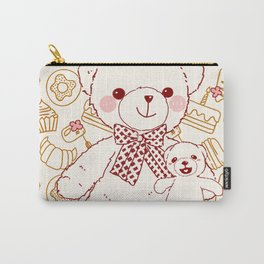 The Adventures of Bear and Baby Bear-Pastry Carry-All Pouch
