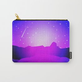 Purple Night Carry-All Pouch