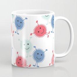 Cute Furry Monsters Coffee Mug