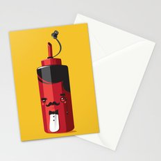 Fancy Ketchup Stationery Cards