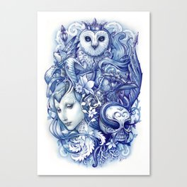Fables Canvas Print