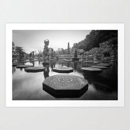 Water Temple Art Print