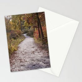 Fall and North DuPage Woods Trail Stationery Cards