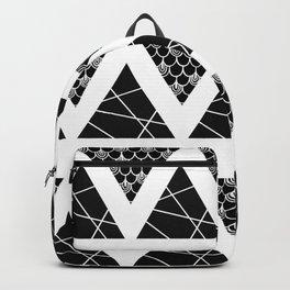 Split Diamonds Zentangle Backpack