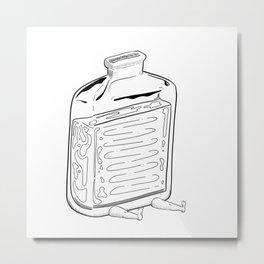 Suppress Metal Print