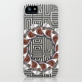 Loopsharks iPhone Case