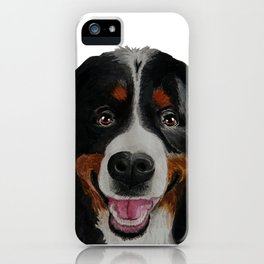 Farkle the Bernese Mountain Dog iPhone Case