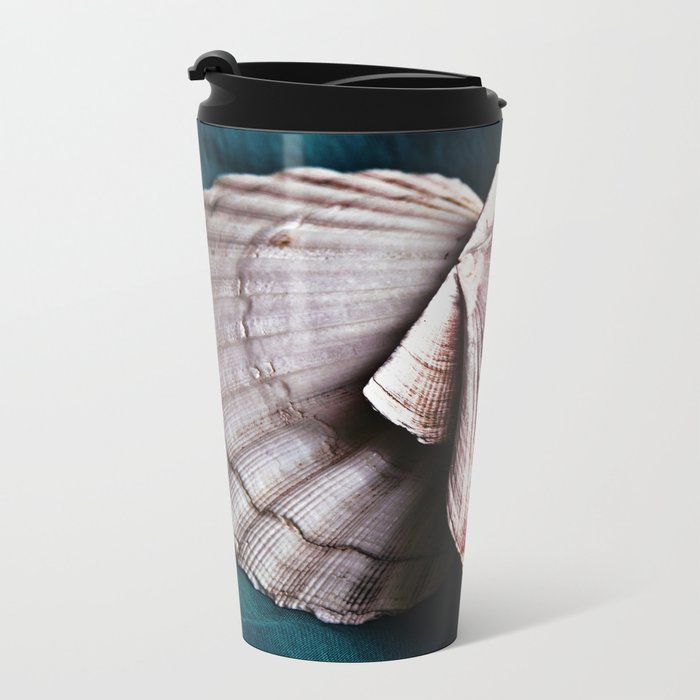 YOU and ME in Structures of Harmony Metal Travel Mug