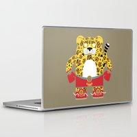 jaguar Laptop & iPad Skins featuring Jaguar by EinarOux