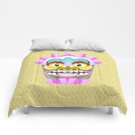 Aloha Tiki Mask Comforters