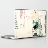 posters Laptop & iPad Skins featuring Posters by Patterns and Textures